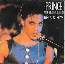 45 TOURS--PRINCE & REVOLUTION--GIRLS & BOYS--1986