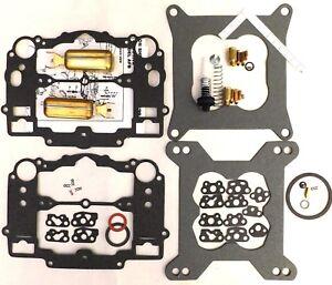 Edelbrock AFB Carb Rebuild Kit 1405 1406 1407 1408 1409 1410 1411 2 Brass Floats