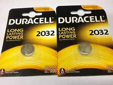 Duracell Lithium-Based CR2032 Single Use Batteries