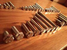 1080xM2 M3 M4 Schrauben Muttern Sechskantschrauben Gewindeschraube Sortiment Set