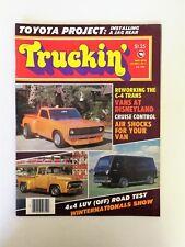 Truckin Magazine May 1976 - Vans at Disneyland - Project Toyota - 4x4 Chevy LUV