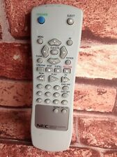 GENUINE REMOTE CONTROL NEC RB-VD5 TV VIDEO Model tested Working