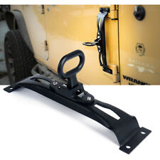 1 pc Xprite Door Hinge Metal Side Foot Pedal Step For 07-18 Jeep Wrangler JK