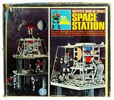 Vintage Mattel Major Matt Mason Astronaut Space Station Near Mint w/Insert & Box