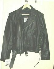Leather Jacket  New  3M Thinsulate  Cycle, Bomber Style Size 40