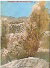 rivista - PROGRESSIVE ARCHITECTURE ANNO 1967 NUMERO 4