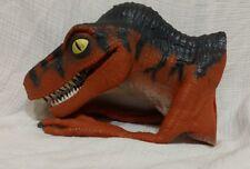 "1996 Jurassic Park RAPTOR 12"" Rubber Puppet The Lost World Vintage Movie Toy"