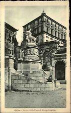 Udine Italien Italy Venetien ~1920/30 Statua della Pace di Campoformido Statue
