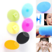 Silicone Facial Cleaning Brush Baby Bath Face Blackhead Exfoliator Cleaner Scrub