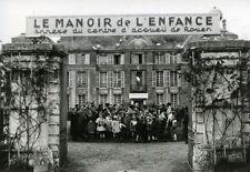 France Rouen Sotteville Castle Childhood Manor Old Photo 1942