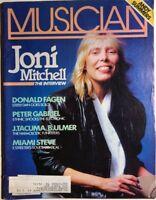 MUSICIAN Magazine January 1983 Joni Mitchell interview