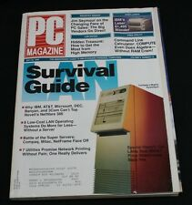 PC Magazine May 29 1990 Vol 9 #10 LAN Survival Guide Compaq Systempro Netware