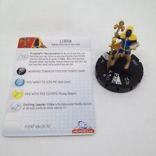 Heroclix Superman set Libra #037 Rare figure w/card!