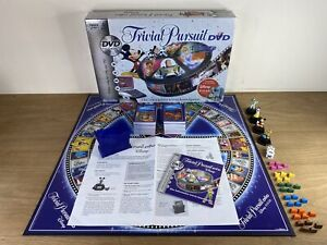 Disney Edition Trivial Pursuit DVD Board Game - Interactive Game - Complete