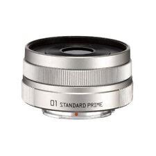 NEW PENTAX 22067 Pentax Q 01 Standard Prime Lens SILVER Japan new .