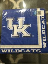 University of Kentucky Wildcat Dinner (20) Napkins College Tailgate Party