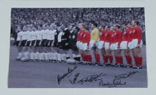 England 1966 Team Photo Signed By 5 Hurst Banks Peters Cohen & J Charlton £39.99