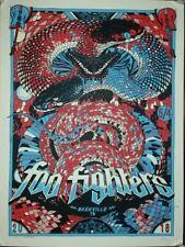 Nashville #/300 Foo Fighters 2018 Poster Tour Show Print Bridgestone Stout Mondo