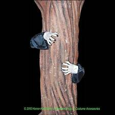 Creepy Posable ZOMBIE HANDS TREE HUGGER Halloween Haunted House Yard Decoration