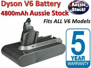 4800mAh Replacement Battery for Dyson V6 Series Vacuum Cleaner SV06 DC58 DC61
