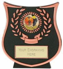 Emblems-Gifts Curve Bronze Futsal Plaque Trophy With Free Engraving