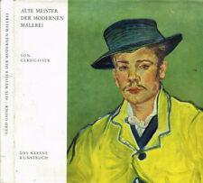 ALTE MEISTER DER MODERNEN MALEREI. VON CEZANNE BIS BONNARD. 1963. .