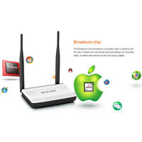 Tenda N300 300Mbps WiFi Wireless Router with 2 fixed antenna Hot Sale HYH