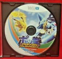 Pokken Tournament - Nintendo Wii U 2 Game Lot Tested  1 Owner  Pikachu