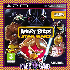 Angry Birds Star Wars PS3 (Sony PlayStation 3) Brand New FREE REGISTERED POST