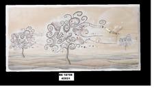 ART. DA REGALO OROLOGIO ALBERO DELLA VITA IN POLVERE DI MARMO COD. BE 18708