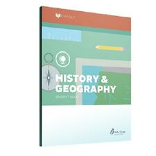 Alpha Omega Lifepac History & Geography 3rd Grade Workbooks Set