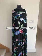 Tropical Lily posizionamento Floreale/stampa floreale tessuto stretch Jersey sartoriale