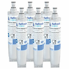 Fits Whirlpool 4396508 Refrigerator Water Filter Replacement by Refresh (6 Pack)