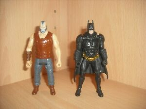DC Comics Batman & Bane Action Figures