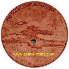 2017 - Solar System, MARS, NWA 7397, Niue $1, Dome-shaped