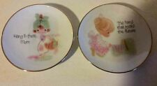 Precious Moments Collection Collector Plates Nib 6 pcs asst made in japan