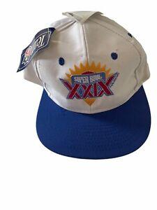 1995 Super Bowl XXIX 29 Cap Hat Snapback 49ers Chargers NFL FOOTBALL