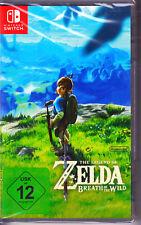 The Legend of Zelda: Breath of the Wild Nintendo Switch Spiel  (Rollenspiel)NEU