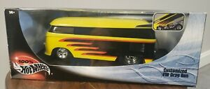 Hot Wheels - Customized VW Drag Bus - 100% HW Collection - 1/18 Car ~#3711