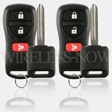 2 Car Fob Keyless Entry Remote For 2014 2015 2016 Nissan NV350 Urvan + Key