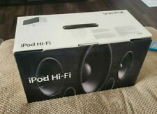 Apple iPod Hi-Fi Speaker Mint Condition Bluetooth adapter included