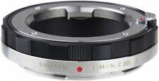 SHOTEN Mount Adapter Leica M mount lens to Nikon Z mount Conversion Black