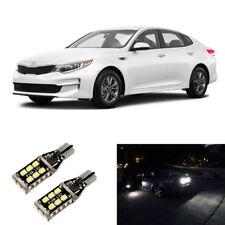 Total 1600lm White 921 Led Reverse Backup Light Bulbs For 2003 2018 Kia Optima