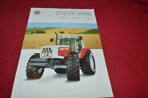 Steyr 9155 9170 9190 Tractor Dealers Brochure CDIL