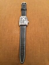 black paul frank scurvy wrist band watch with new batteries