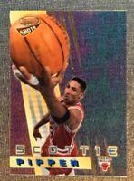 1996-97 Bowman's Best SCOTTIE PIPPEN Best Shots #BS1-Acetate Card-BULLS