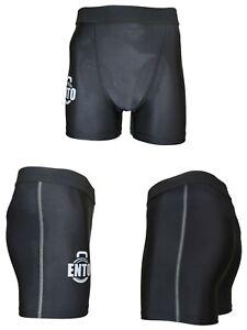 Ento Mens Compression Boxer Shorts Base Layers Sports Briefs Skin Fit Gym Pants