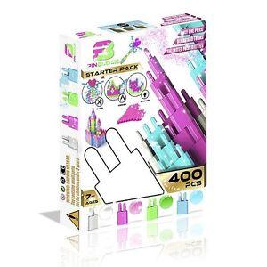 Pinblock Starter Pack Girls 400 pcs 7+ Ages BRAND NEW