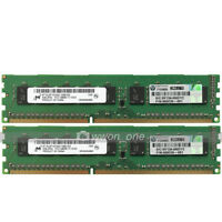 Micron 16GB 2x8GB 2Rx8 PC3-12800E DDR3 1600MHz 240Pin ECC Unbuffered Server RAM