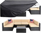 Patio Furniture Cover Super Large Outdoor Sectional Set Waterproof Table Chair